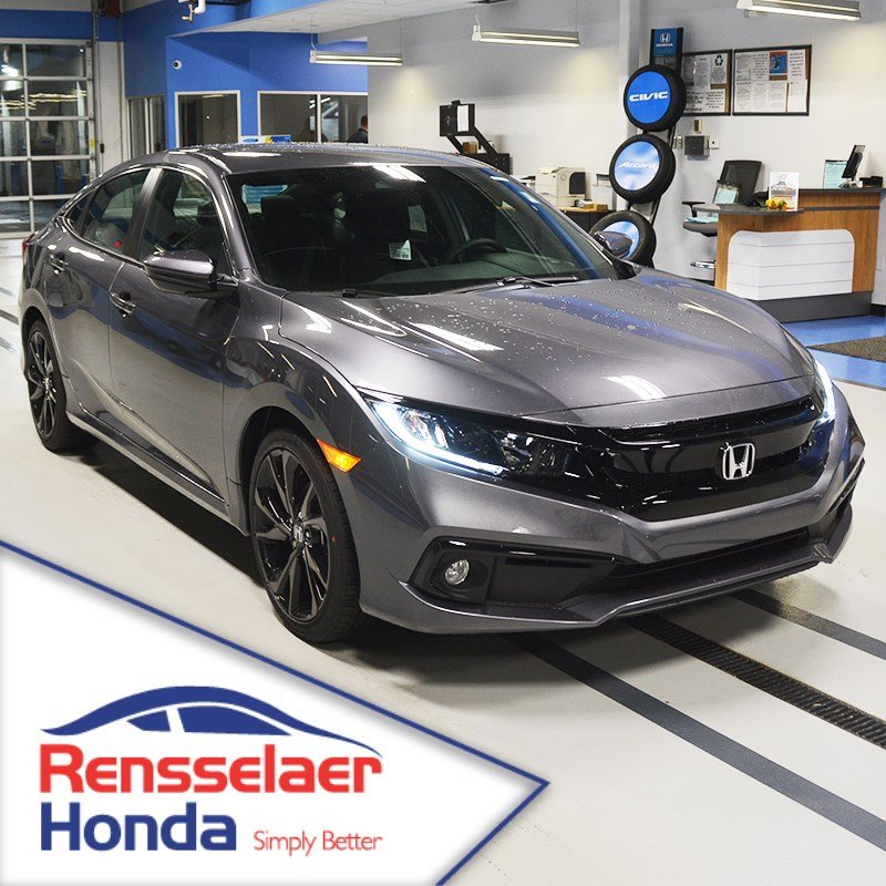 9ee732bfe4a New 2019 Honda Civic Sedan Sport 4dr Car near Albany #190529 ...